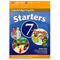 Cambridge Young Learner English Test Starters 7 Student Book thumbnail