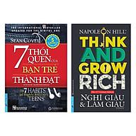 Combo 7 Thói Quen Của Bạn Trẻ Thành Đạt (Tái Bản) + Nghĩ Giàu Và Làm Giàu (Tái Bản) (2 Cuốn) thumbnail