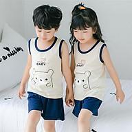 Bộ quần áo cho trẻ sơ sinh chất liệu thun cotton thoáng mát 105 thumbnail