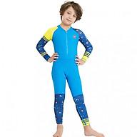 Bộ bơi liền dài xanh bé trai từ 2 đến 11 tuổi thumbnail