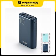 Pin sạc dự phòng Polymer 10.000 mAh AVA PJ JP191S - Hàng chính hãng thumbnail