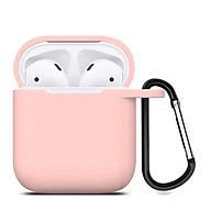 Bao Case Silicon Dành Cho Tai Nghe Apple Airpods Có Móc Khóa thumbnail