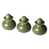 Bình gốm đựng tinh dầu massage - Giao màu ngẫu nhiên thumbnail