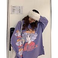 Áo thun nữ tay dài Extreme Girl form rộng Freesize 45-70kg (cao dưới 1m75) Molly Urban thumbnail