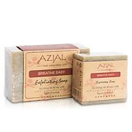 Xà phòng tắm tẩy tế bào chết AZIAL Breathe Easy Exfoliating Soap, 100% thiên nhiên, phù hợp với mọi loại da thumbnail