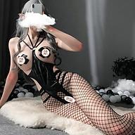 Đồ ngủ cosplay da PU - Đồ lót sexy gợi cảm táo bạo thumbnail