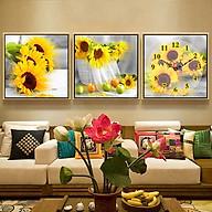 Tranh treo tường, tranh nghệ thuật NT105 bộ 3 tấm ghép thumbnail