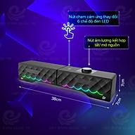 Loa Bluetooth Vi Tính Có Hiệu Ứng Đèn Led Nhiều Màu, Chất Lượng Âm Thanh Tuyệt Đỉnh - Hàng Chính Hãng thumbnail