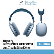 Tai nghe chụp tai bluetooth không dây Lanith chống ồn Air Max P9 Dễ dàng kết nối với tất cả các hệ điều hành - Hàng chính hãng HP000P9 thumbnail