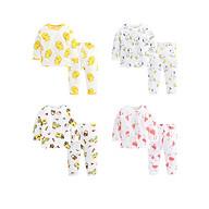 combo 4 bộ quần áo dài tay - chất cotton sợi than tre siêu mềm thumbnail