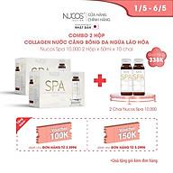 Combo 2 Hộp Collagen nước căng bóng da ngừa lão hóa Nucos Spa 10000 2 Hộp x 50ml x 10 chai thumbnail