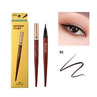 Bút Kẻ Mắt Nước Vacosi Natural Studio Waterproof Eyeliner 02 deep brown thumbnail