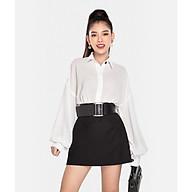HNOSS Váy mini đô lưng 65% Coton 35% Polyester BAA12012009NM thumbnail