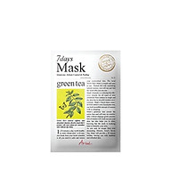 Mặt nạ 7 ngày Tinh Chất Trà xanh Ariul 7days Mask 20ml thumbnail
