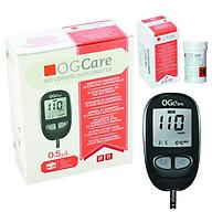 Máy đo đường huyết Ogcare chính hãng + Tặng hộp gồm 25 que thử + hộp gồm 100 kim lấy máu. thumbnail