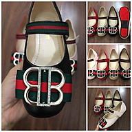 Giày sandal búp bê cho bé gái 00209 sz26-36 Màu đen thumbnail