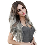 LC179-6 Natural Full Wigs Long Wavy Wig Synthetic Fiber Wigs Heat Resistant Long Hairpiece for Women Wavy Curly Hair thumbnail
