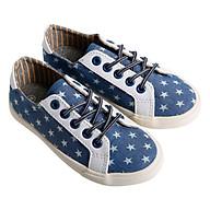 Giày Sneaker Buộc Dây Bé Gái Urban UG1609J - Bò Xanh thumbnail