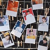 9 ảnh Polaroid in trang trí nhà cửa bàn học, cán màng bóng bảo quản rất lâu thumbnail
