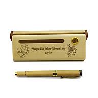Bộ bút gỗ cao cấp tặng phụ nữ_mẫu 03 (Kèm hộp đựng sang trọng) thumbnail