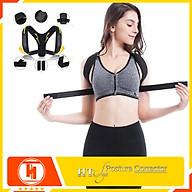 Đai chống gù lưng nam nữ HT SYS - Posture Corrector- Giúp định hình cột sống - Điều chỉnh tư thế của lưng - Phù Hợp Với Mọi Độ Tuổi - Hỗ Trợ Điều Trị Hiệu Quả Chứng Gù Lưng, Lưng Tôm, Cong Vẹo Cột Sống thumbnail