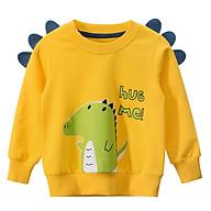 Áo bé nam áo thu đông cao cấp cho bé từ 10kg đến 30kg vải mềm mại co giản 4 chiều thumbnail