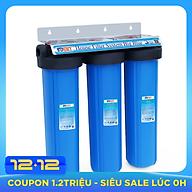 Bộ lọc nước 3 giai đoạn siêu sạch 20 inch Bigblue- Hàng chính hãng thumbnail
