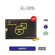 Viên Nano X hỗ trợ Sinh lý tăng cường sức khỏe Nano Đông trùng hạ thảo 30 viên thumbnail