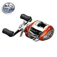 Cần câu cá lure - Kèm máy kim loại - Màu xanh carbon 2m4 - Tặng 1 đốt cần + 1 hộp cước BCL07 thumbnail