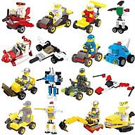 Xếp hình Lego Enlighten Squads 2102 10 mô hình đồ chơi lắp ráp phát triển trí tuệ cho bé (bán lẻ từng mô hình) thumbnail