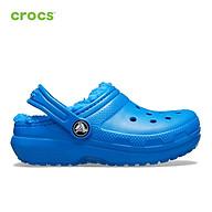Giày lười trẻ em Crocs Classic Lined Clog- 203506 thumbnail