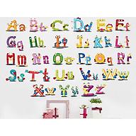 decal dán tường chữ cái ngộ nghĩnh xh6220 thumbnail