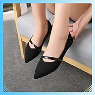 Giày bệt cao 3 cm đơn giản dễ mix đồ mã BB_B10 thumbnail