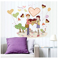 Decal dán tường tình yêu lãng mạn MJ7011 thumbnail