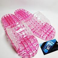 Dép massage đi trong nhà tắm MT1-Màu hồng thumbnail