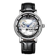 Đồng hồ cơ nam PAGINI lộ máy dây da cao cấp Phong cách sang trọng, lịch lãm - PA04 thumbnail