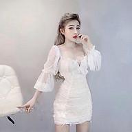 Đầm ren, đầm nữ, đầm uzzlang, đầm trễ vai, đầm 2 kiểu, đầm ôm, đầm body thumbnail