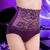 Quần lót nữ Sunzin dạng quần ren cạp cao có gen bụng thumbnail