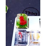 Keycap artisan hoa cúc đỏ trang trí bàn phím cơ SA R1 thumbnail