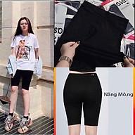Quần legging lửng nâng mông 4 túi, quần ngố nữ NT 7 thumbnail