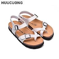 Sandal HuuCuong xỏ ngón tră ng đế trấu thumbnail