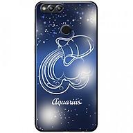 Ốp lưng dành cho Honor 7X mẫu Cung hoàng đạo Aquarius (xanh) thumbnail