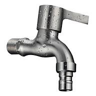 Vòi Nước Lạnh Gắn Tường Bằng Inox 304 Đầu Vòi Tạo Bọt Chống Bắn Nước thumbnail