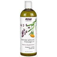Lavender Almond Massage Oil Tinh Dầu Massage chiết xuất từu Hạt Dẻ - Hương hoa oải hương (473 ml) thumbnail