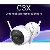 Camera IP Wifi ngoài trời EZVIZ C3X 1080P Bản mắt kép và Tích hợp AI - ban đêm có màu - đàm thoại 2 chiều - Có đèn và còi báo động - hổ trợ thẻ nhớ lên đến 256G - hàng nhập khẩu thumbnail