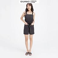 Jumpsuit 2 dây eo chun GUMAC DB697 thumbnail