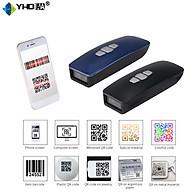 Máy quét mã vạch Mini nhỏ gọn YHDAA 3200DB 2D kết nối Bluetooth USB Có dây hỗ trợ quét mã Qrcode hiện thông tin thời gian quét dùng trên Điện thoại, Máy tính - Hàng Nhập Khẩu thumbnail