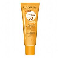 Kem chống nắng không màu giảm bóng nhờn cho mọi loại da Bioderma Photoderm Max SPF 50+ 40ml (Nhập khẩu) thumbnail
