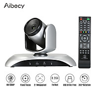 Aibecy 1080P HD Video Conference Camera Fixed Focus Wide Angle Webcam Supported H.264 Hard Compression 355 Rotation thumbnail