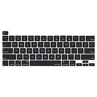 Phủ phím cho Macbook đủ dòng - Silicon màu đen chống nước, chống bám bụi bẩn thumbnail
